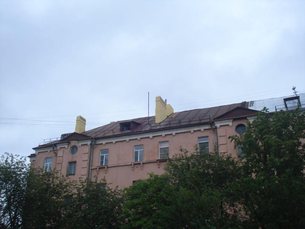 улица Шотмана, 54 - ремонт оголовков газовентканалов